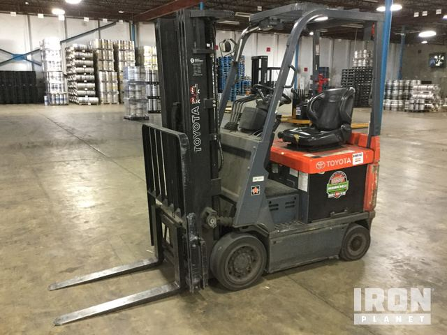 Toyota 7FBCU15 Electric Forklift in Shreveport, Louisiana, United