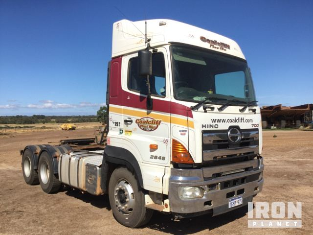 Surplus 2010 Hino 2848 700 Series 6x4 Prime Mover in Muchea