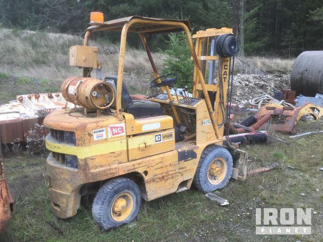 Cat V50B Pneumatic Tire Forklift in Dupont, Washington