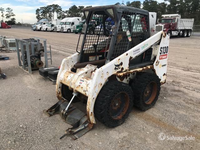 2014 Bobcat S130 Skid-Steer Loader in Humble, Texas, United