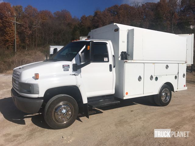 2008 Gmc C4500 S A Utility Truck In Harrison Arkansas United