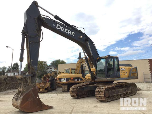 2008 John Deere 350D LC Track Excavator, Hydraulic Excavator