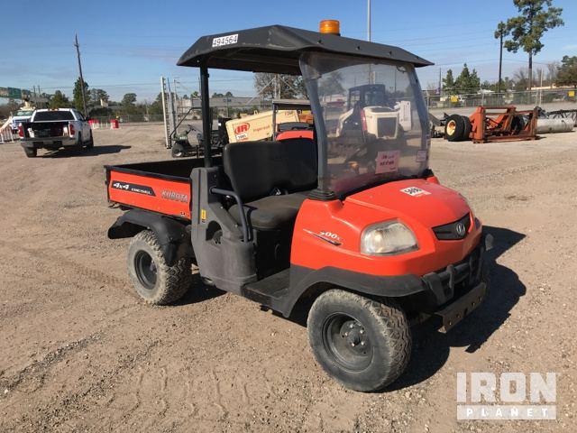2012 Kubota RTV900 4x4 Utility Vehicle in Humble, Texas