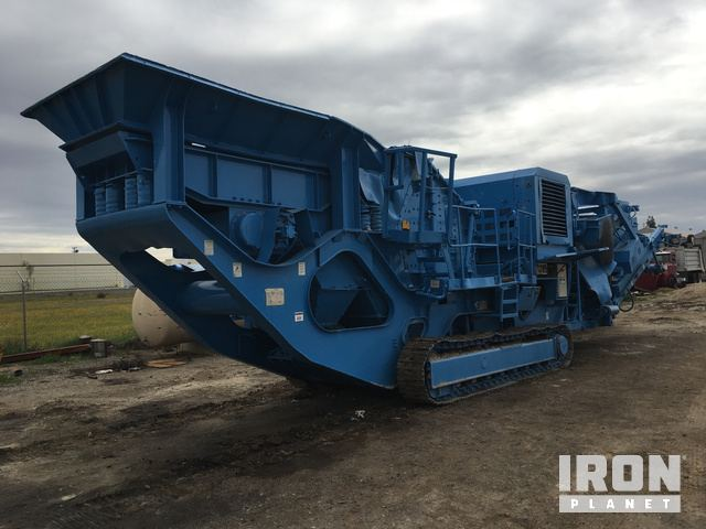 2004 Terex Pegson 4242SR Tracked Mobile Impact Crusher Plant