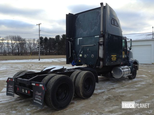 1999 International 9400 T/A Sleeper Truck Tractor in Homer, Michigan