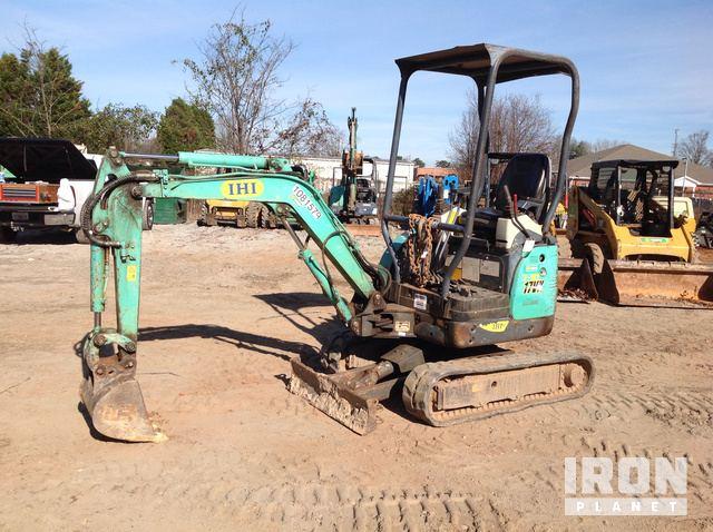 2013 IHI 17VX3 Mini Excavator in Griffin, Georgia, United