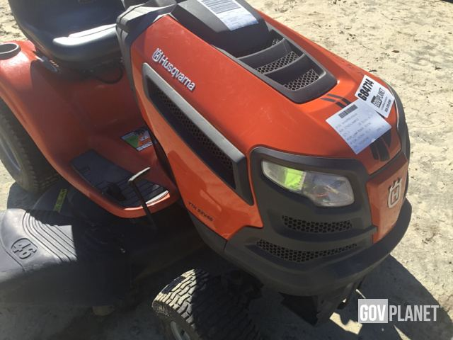 Surplus Husqvarna YTH22V46 Mower in Fayetteville, North Carolina