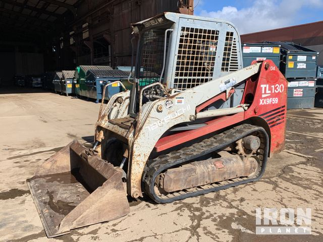 Takeuchi TL130 Compact Track Loader in South San Francisco