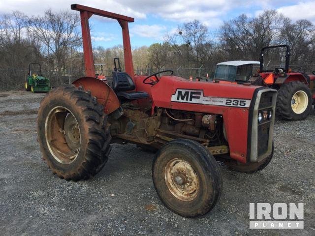 Massey Ferguson 235 2WD Tractor in Milledgeville, Georgia, United