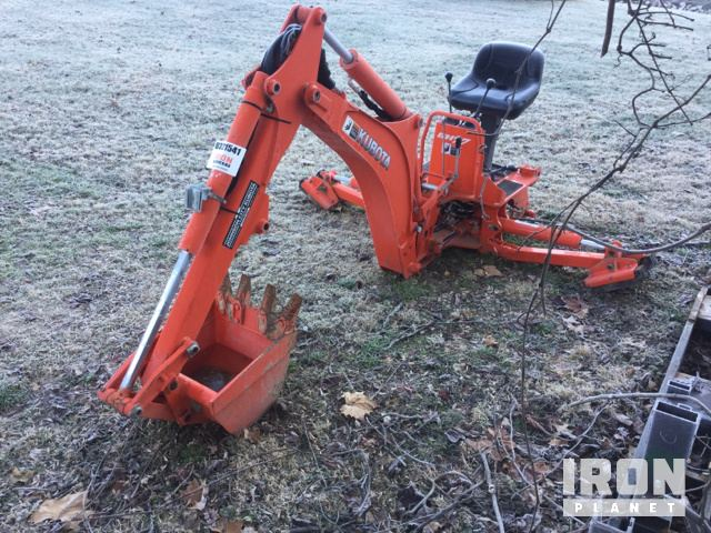 Kubota BH77 Backhoe Attachment in Morehead, Kentucky, United States