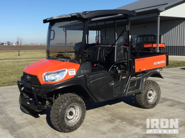 2018 Kubota RTV-X1120 4x4 Utility Vehicle in Streator