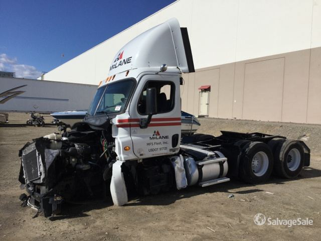 2012 Freightliner Cascadia 125 T/A Day Cab Truck Tractor in