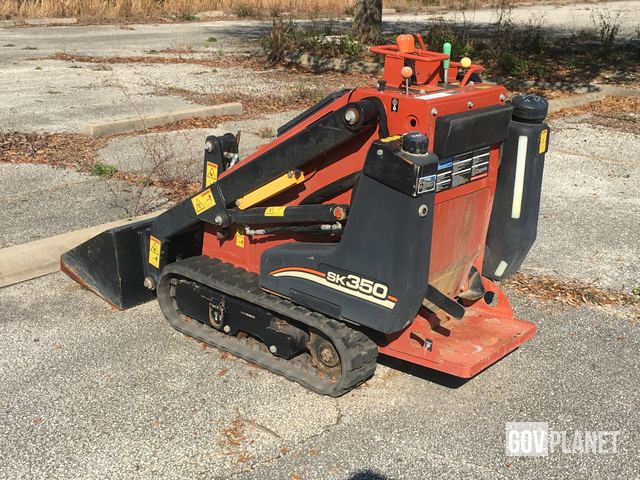 Surplus 2015 Ditch Witch SK350 Compact Track Loader in Jacksonville