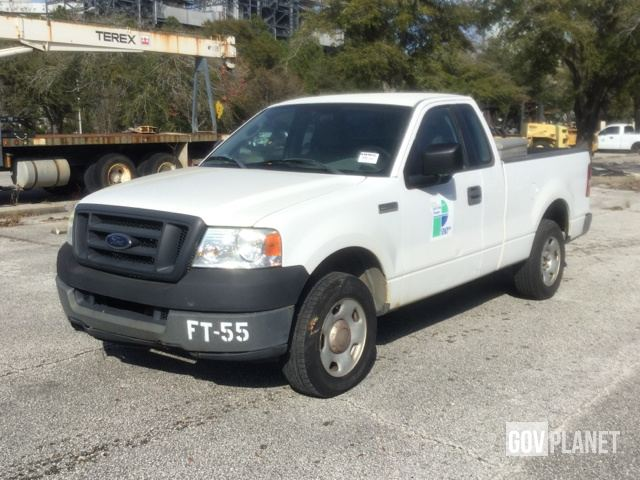 2005 Ford F 150 Xl >> Surplus 2005 Ford F 150 Xl Pickup In Jacksonville Florida United