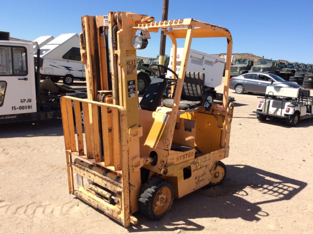 Hyster E40XL-MIL Electric Forklift