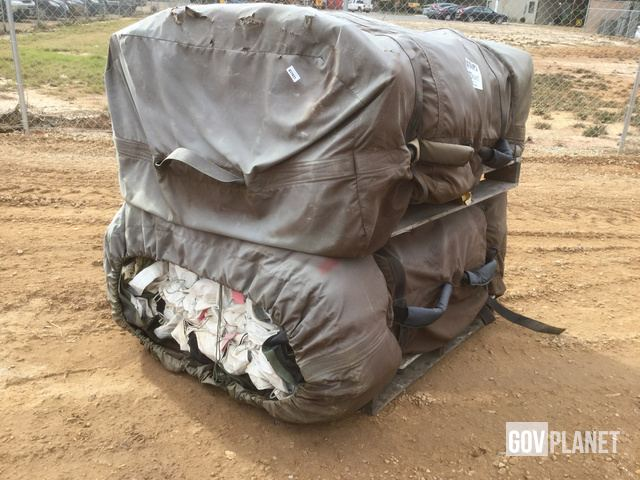 Picture Right Rear Corner & Surplus Lot of (2) DHS Systems Drash MX Series Tents in Albany ...