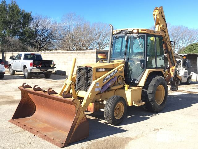 Surplus John Deere 310D Backhoe Loader In San Marcos Texas