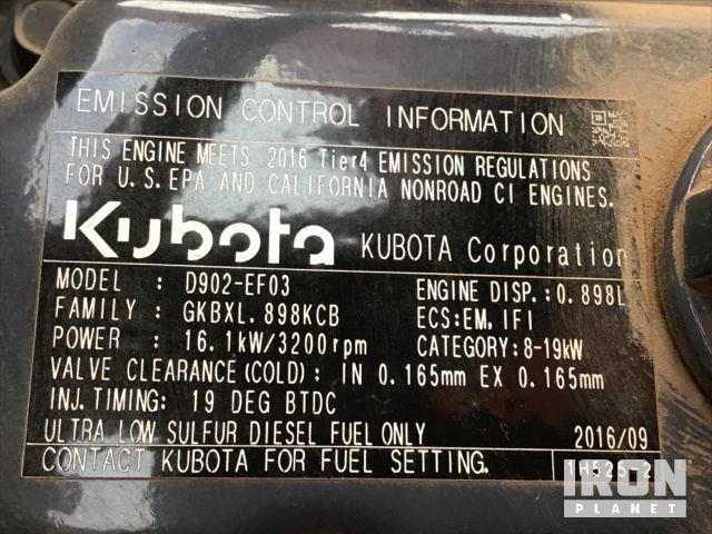 2016 Kubota BX25DLB 4WD Utility Tractor in Eugene, Oregon, United