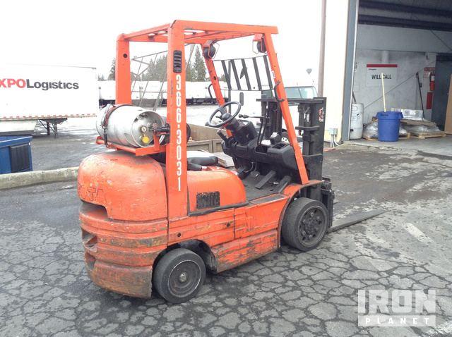 Toyota 42-6FGCU25 Cushion Tire Forklift in Spokane