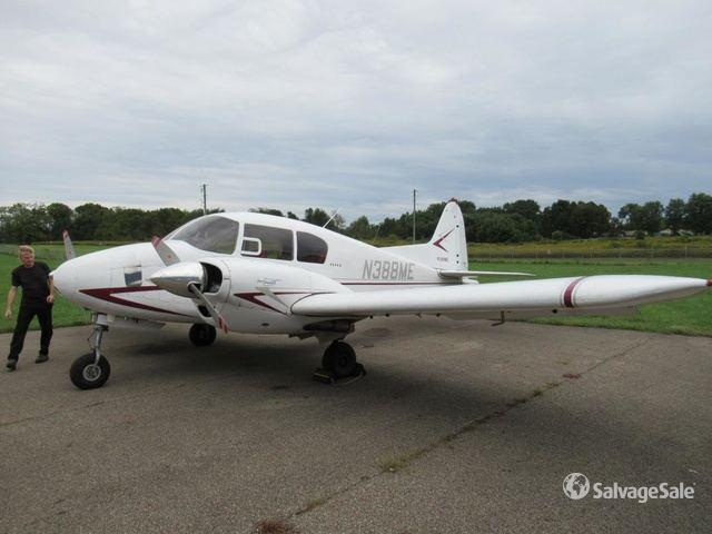 1955 Piper Apache PA-23-160 Plane in Carroll, Ohio, United States