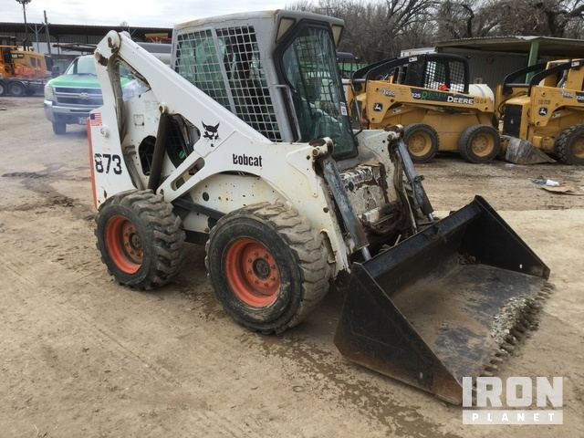 Bobcat 873 Skid-Steer Loader in Arlington, Texas, United