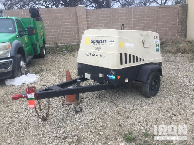 2012 Doosan C185WKUB-T-I 185 CFM Air Compressor in Fort