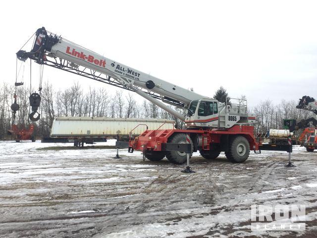 2014 Link-Belt RTC-8065 Rough Terrain Crane, Rough Terrain Crane