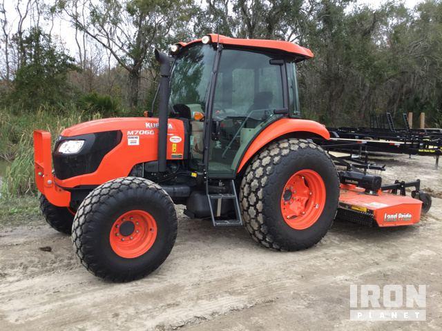 Kubota M7060D 4WD Tractor in Palatka, Florida, United States