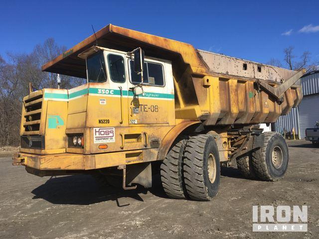 End Dump Truck >> Surplus Payhauler 350c Off Road End Dump Truck In Manchester Ohio