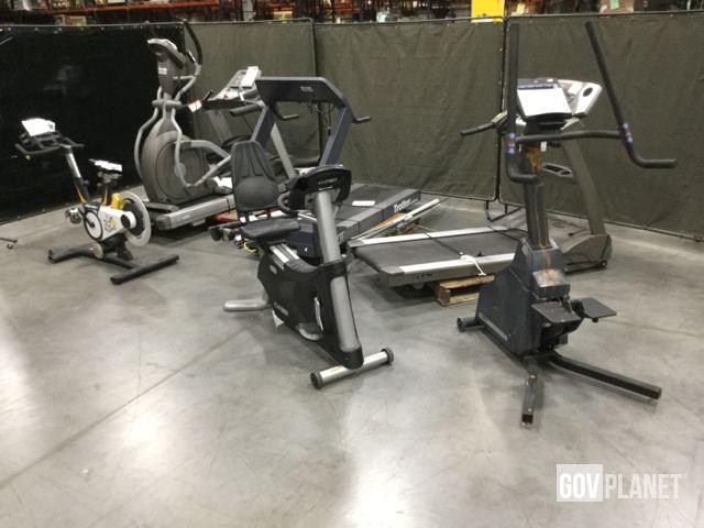 Surplus Lot Of 7 Exercise Machines In Chambersburg Pennsylvania