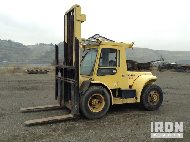 Hyster H180H Pneumatic Tire Forklift in Clarkston, Washington ... on