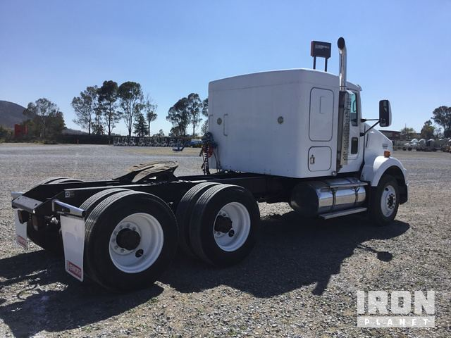 2008 Kenworth T800 T A Sleeper Truck Tractor In Polotitlan