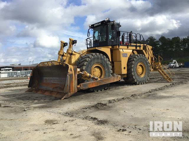 2013 Cat 844H Wheel Dozer in De Kalb, Mississippi, United