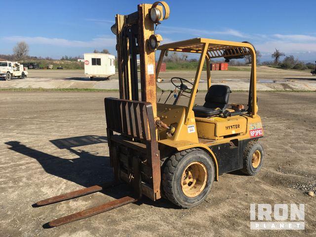 Hyster Forklift Manual H50h