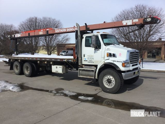 2008 Sterling LT7500 Flatbed Truck w/Conveyor in Lincoln, Nebraska