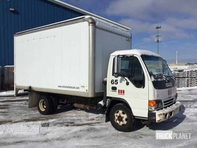 2000 Isuzu NPR Cargo Truck