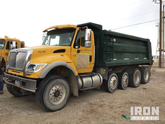 2006 International 7700 Quad/A Dump Truck in Moab, Utah