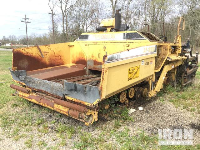 Cat AP1050B Asphalt Paver, Parts/Stationary Construction-Other
