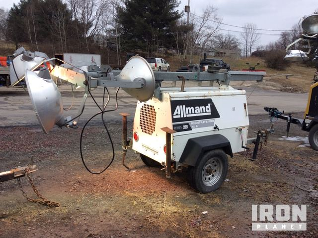2008 Allmand Nite-Lite Pro NL 6 SHO-HD Light Tower in