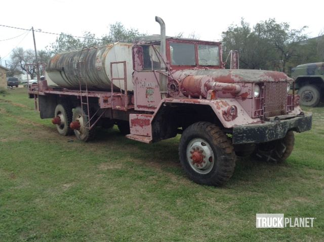 1970 Kaiser Jeep M-63A2 6x6 T/A Water Truck in Hebbronville, Texas