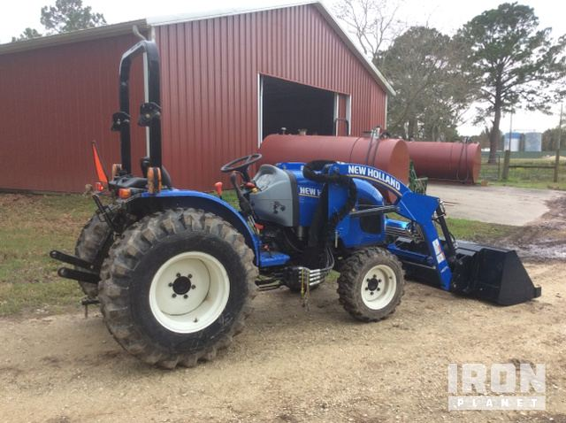 2017 (unverified) New Holland Workmaster 33 4WD Tractor in