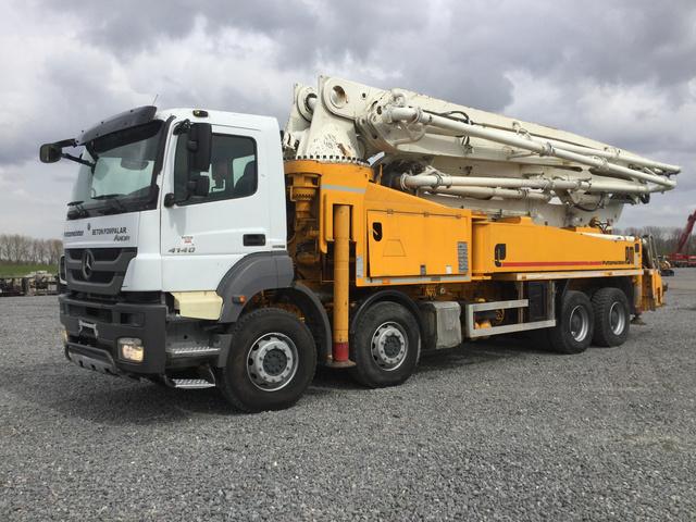 Concrete Pump Trucks For Sale | IronPlanet