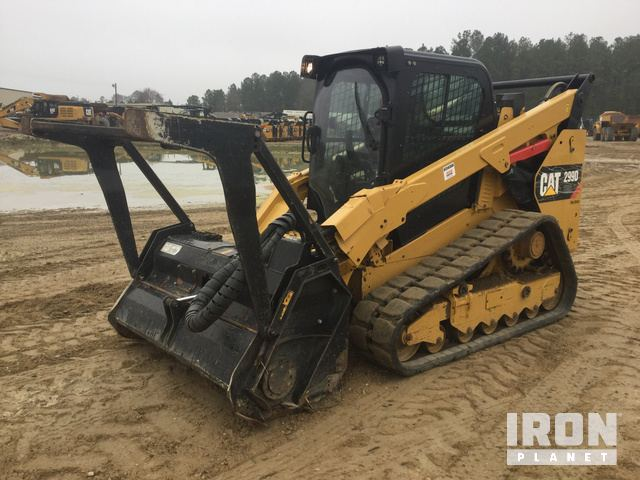 2014 Cat 299D XHP Compact Track Loader in Hope Mills, North Carolina