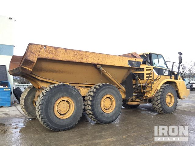 2008 Cat 735 Articulated Dump Truck in Livermore, California