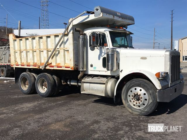 1998 Peterbilt 379 T/A Dump Truck in Pittsburgh, Pennsylvania