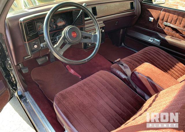 1987 Chevrolet Monte Carlo SS Aero Coupe in Oklahoma City, Oklahoma