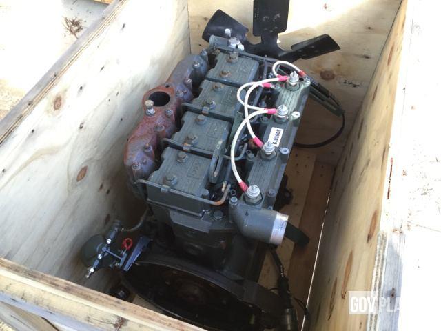 Surplus Onan DN4M-1 Diesel Engine in Fayetteville, North Carolina