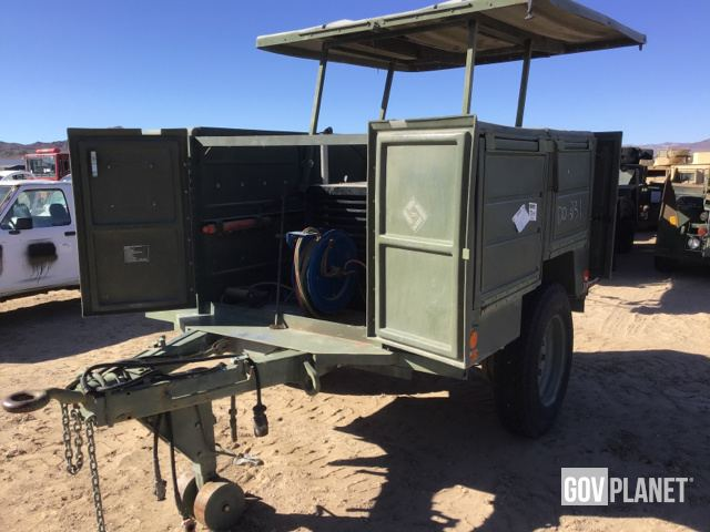 Surplus Power Manufacturing MCTWS Welding Trailer Chassis in