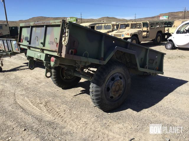 Surplus 1987 Turtle Mountain M105A2 Cargo Trailer in Barstow