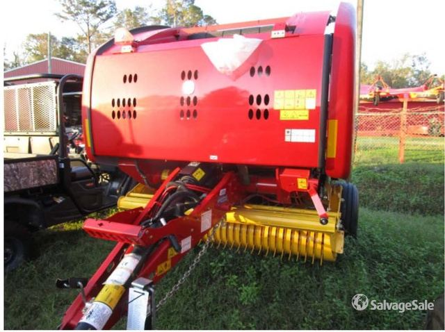 2018 (unverified) New Holland RB450 Round Baler in